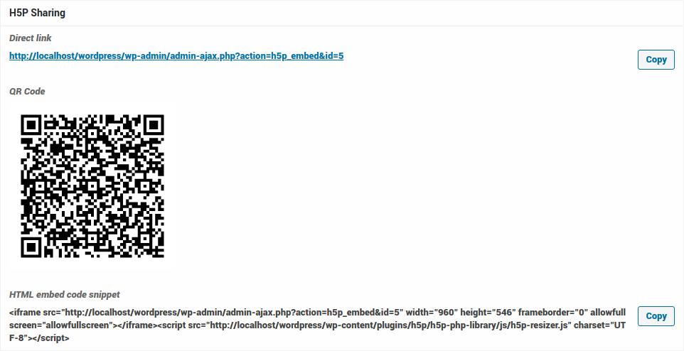 H5P Sharing (screenshot)