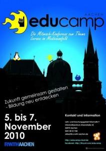 Poster zum EduCamp Aachen 2010