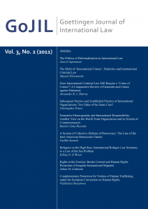 Cover der 2. Ausgabe 2011 von GoJIL