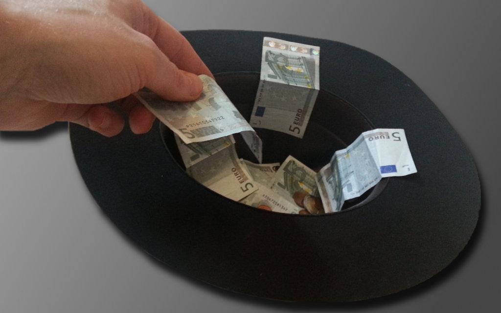 Geldspende