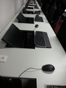 E-Prüfungsraum der Universität Göttingen