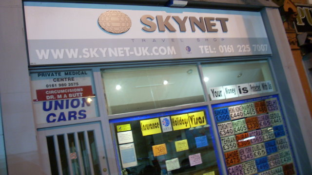 Originalfoto (von mir beschnitten): Skynet von Tom Bullock (CC BY 2.0)
